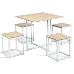 5 Piece Dining Table And Chairs Set Compact Space Bar for Sale in El Cajon, CA