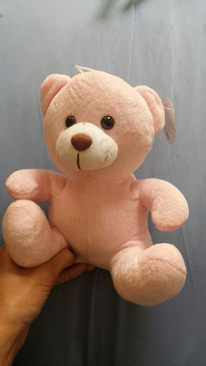Pink stuffed teddy bear for Sale in Huntington Beach, CA
