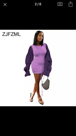 Capuche dress color purple for Sale in Takoma Park, MD