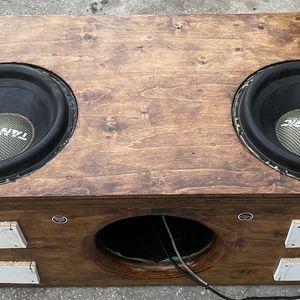 2 Tantric 15s In Big Ported Box for Sale in Sebring, FL