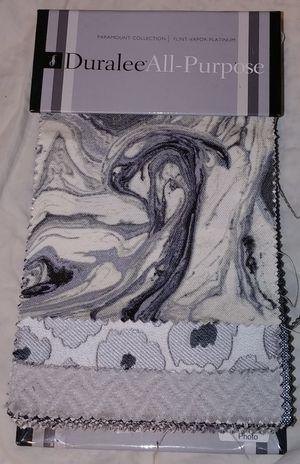 Fabric Sample Book: Duralee All-Purpose Fairmount Collection. Flint-Vapor-Platinum. Book #2948 for Sale in Seattle, WA