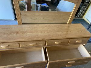Good Company Dresser with mirror for Sale in Vero Beach, FL