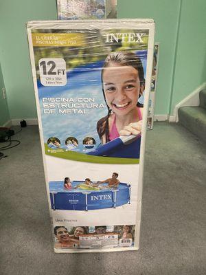 "New Intex 12'x30"" Metal Frame Pool, No Filter for Sale in Manassas Park, VA"