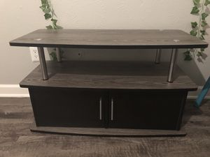 40 inch TV stand with cabinet for Sale in Arlington, TX
