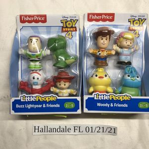 Fisher Price Little People Toy Story 4 Complete Set for Sale in Aventura, FL