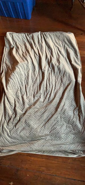 Taupe BlanQuil Twin Weighted Blanket (20lbs) for Sale in Washington, DC