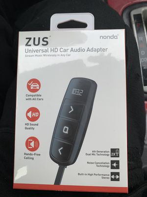 ZUS Wireless Steering-Wheel CarPlay Adapter for Sale in Oxon Hill, MD