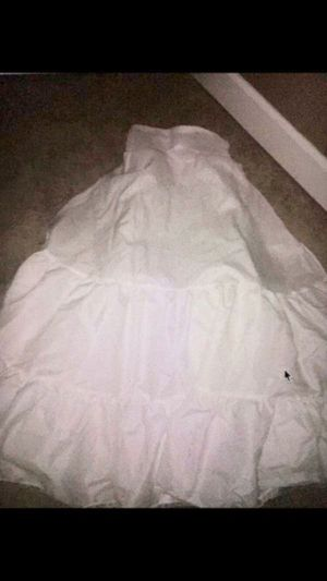 Davids bridal petticoat – size 8 / 2 tier medium fullness a-line slip for Sale in Renton, WA