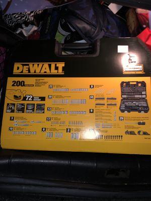 Dewalt 200 piece tool set for Sale in Detroit, MI