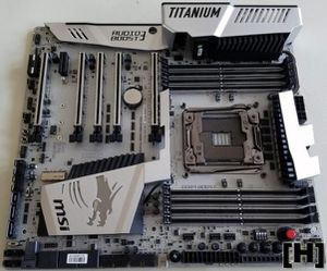 MSI X99A XPower Gaming Titanium for Sale in Tempe, AZ