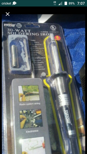 New 30w soldering iron for Sale in CRYSTAL CITY, CA
