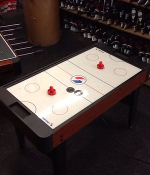 Sportcraft 9 in 1 Air Hockey, Ping Pong, Checkers, Chess, Backgammon, Cards, Shuffle, Bowling, & Foosball Table for Sale in Oak Lawn, IL