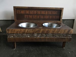 Dog bowls and stand for Sale in Lexington, KY