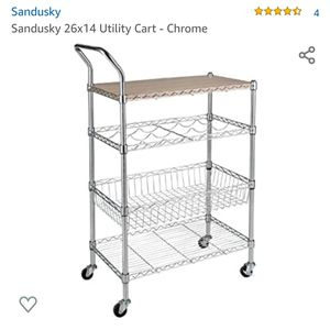 BNIB - Mobile Island/Kitchen Cart for Sale in Dallas, TX