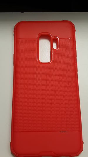 Case for samsung galaxy s9+ plus red slimcase new 7firm now ship out of the town for Sale in Phoenix, AZ