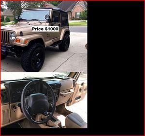 ֆ1OOO_1999 Jeep Wrengler for Sale in Fontana, CA
