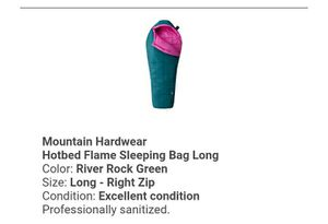 Mountain Hardware Sleeping Bag REI Certified for Sale in Stagecoach, TX