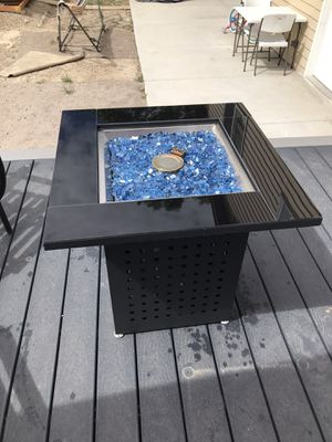 New gas fire pit $250 cash no trades for Sale in Taylorsville, UT