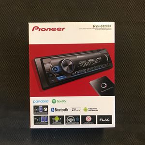 Pioneer Radio Single Din Bluetooth Digital Media Receiver for Sale in Chino Hills, CA