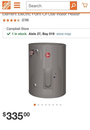 Electric water heater 20 gallon for Sale in Campbell, CA