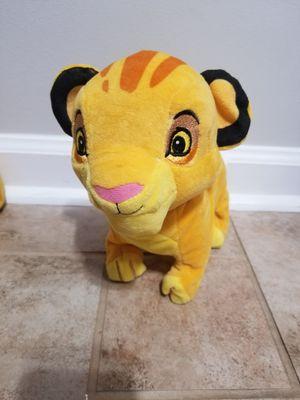 Disney baby walking/sounds simba for Sale in Williamsburg, VA