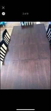 Pottery barn table, chairs and bench for Sale in Hopkinton, MA