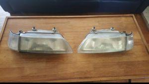 JDM Crx Headlights w/ corners, Jdm fenders w/side markers for Sale in Fullerton, CA
