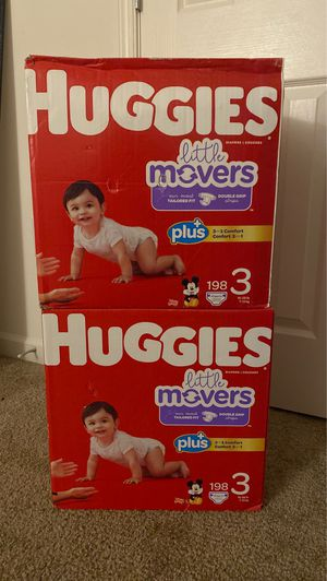 396 Diapers !!! ( Huggies size 3) for Sale in Glen Burnie, MD