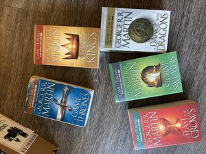 Game of thrones book collection for Sale in San Jose, CA