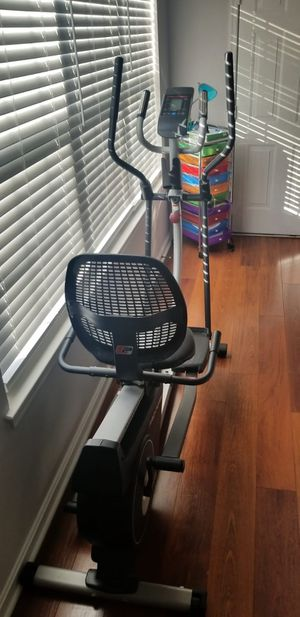 Home elliptical bike 2 in 1 Cross workout for Sale in Alexandria, VA