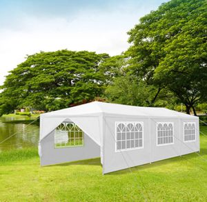 Canopy tent 10'x30' , w/ 8 walls, carpa toldo armable de tubos metal, NEW for Sale in Tijuana, MX