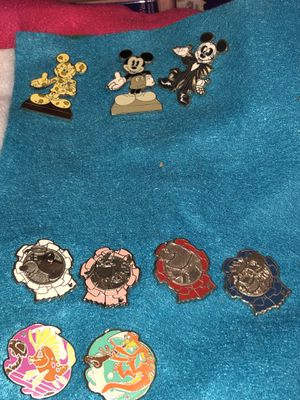 Disney pins 5 each for Sale in Tampa, FL