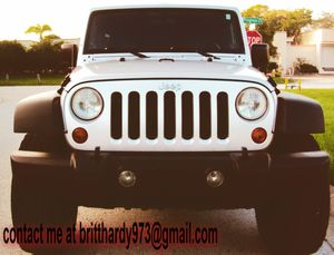 JEEP WRANGLER 07 // UNLIMITED X EDITION *SILVER* GREAT CAR for Sale in Macon, GA
