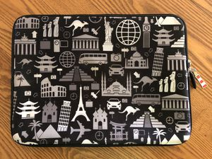 "Decorative Laptop Computer Sleeve w/ Optional Handles. 13"" X 9.5"" for Sale in Orlando, FL"