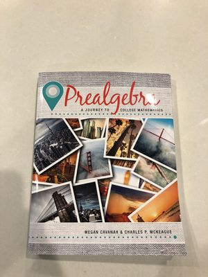 Prealgebra a journey to college mathematics book for Sale in Snohomish, WA