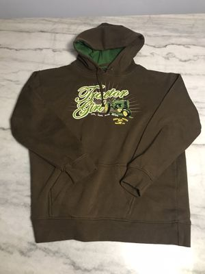 Tractor Girl John Deere Hoodie Size L for Sale in Chicago, IL