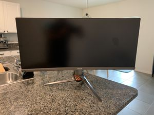 """Asus ROG Swift Curved Gaming Monitor 34"""" 21:9 Ultra-wide QHD (3440x1440) for Sale in Riverview, FL"""