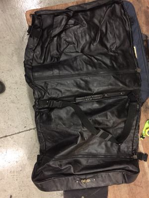 Leather suit bag for Sale in Fairfax, VA