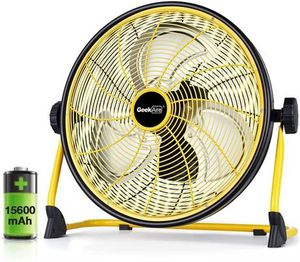 GeekAire Rechargeable Outdoor High Velocity Floor Fan,16'' Portable for Sale in Smyrna, TN