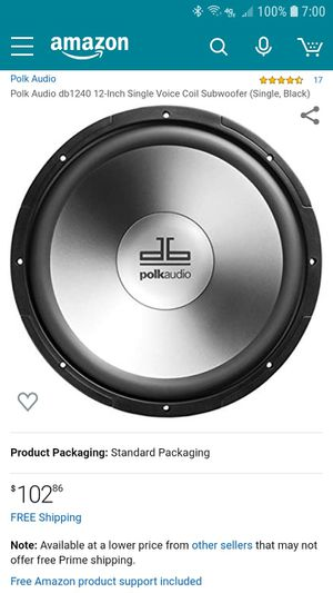Polk audio for Sale in Oak Harbor, WA
