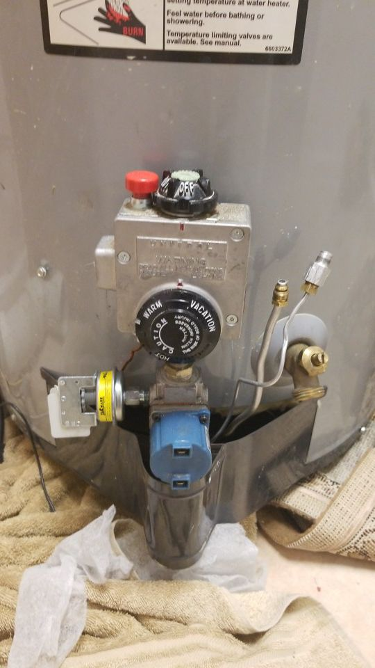 Water heater in working condition
