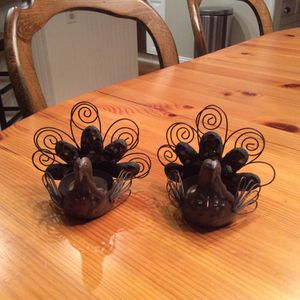 Turkey Tea Light Candle Holders for Sale in Chesterfield, MO