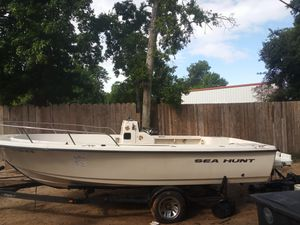 1998 sea hunt 22 ft project for Sale in Houston, TX