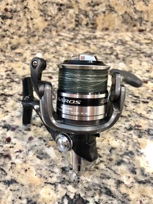 Shimano Saros 4000FA Fishing Reel for Sale in New Port Richey, FL