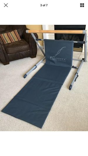Fluidity Fitness Evolved Exercise Bar Barre for Ballet Dance Pilates - yoga,Near new condition for Sale in Wylie, TX