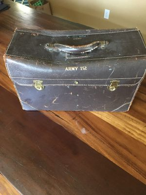 Vintage army leather case. for Sale in Portland, OR