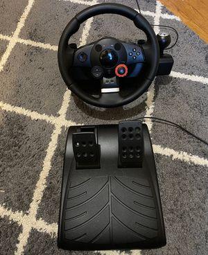 Logitech Driving Force GT Force Feedback Racing Wheel for Sale in Shepherdstown, WV