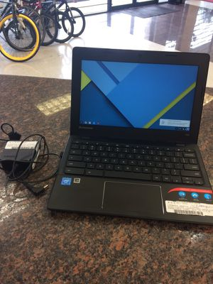 Levono 100S Chromebook with charger for Sale in Austin, TX