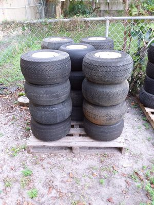 Used good golf cart tires for Sale in Hollywood, FL
