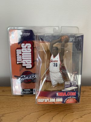 LeBron James DEBUT ACTION FIGURE for Sale in Tampa, FL